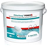 Bayrol - chlorilong power 5 - Chlore lent 5 fonctions galet 5kg