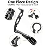 AgimbalGear DH09 Handle Grip Compatible with DJI Ronin S Gimbal Stabilizer Support Extension Mounting Monitor/Microphone Holder Inverted Adapter Low Angle Video Shooting Filming Aluminum Alloy 6