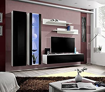 Hochwertig BMFu0026quot;Fly A1u0026quot; Modern Hochglanz Wohnzimmer/Schlafzimmer/Studio Flach  U2013 Möbel Set