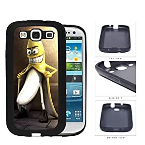 Naughty Banana Adult Humor Rubber Silicone TPU Cell Phone Case Samsung Galaxy S3 SIII I9300