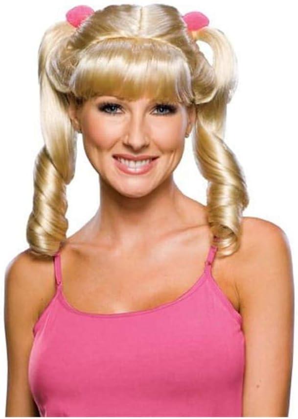 Cheerleader Wig Blond (peluca): Amazon.es: Juguetes y juegos