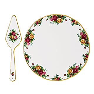 Royal Albert Old Country Roses Cake Plate & Server (B00LODSEUU) | Amazon price tracker / tracking, Amazon price history charts, Amazon price watches, Amazon price drop alerts