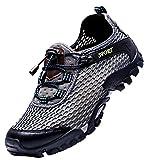 LOUECHY Men's Ponrea Mesh Hiking Shoes Breathable...