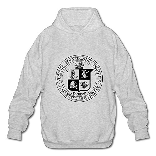 BOOMY Virginia Polytechnic Institute Man's Hooded Sweatshirt SIZE L