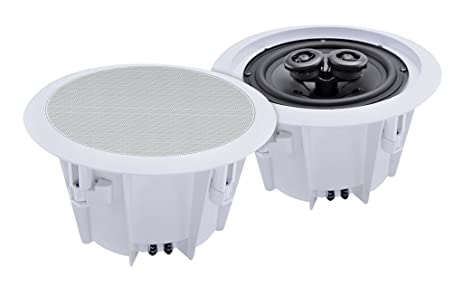 Amazon e audio 8 2 Way Ceiling Speakers 8 Ohms 180 W Home