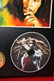 Bob Marley Reggae Limited Edition Picture Disc CD Rare Collectible Music Display
