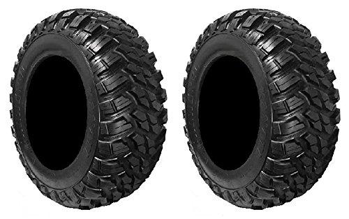 Pair of GBC Kanati Mongrel (8ply) DOT ATV Tires [30x10-14] (2)