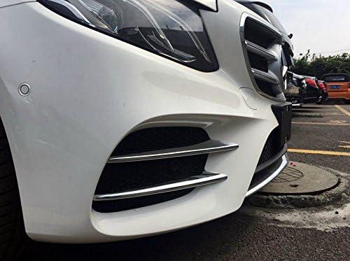HIGH FLYING f/ür E Klasse W213 Limousine AMG Line BJ 2017 2018 2019 Chrom K/ühlergrill Dekor 4 St/ück ABS Kunststoff
