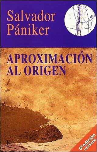 Descargando libros para ipad gratis Aproximación Al Origen en español PDF iBook PDB
