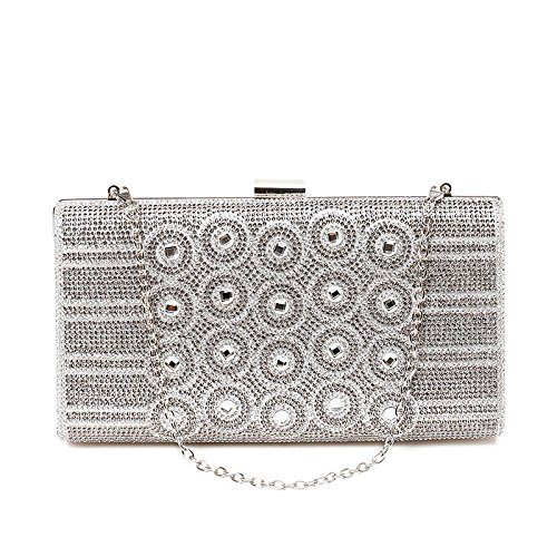 Slive Package Clutch Handbags Bag New Diamond And Of Sequins Dinner American Shimmer European Chain qfwTOz