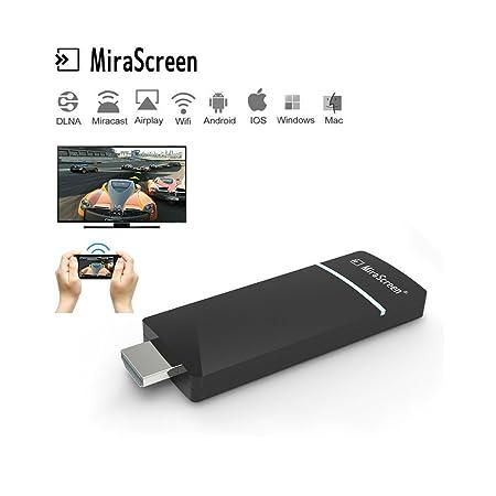 MiraScreen A3 WiFi Display Dongle Receiver 1080P HD TV: Amazon co uk