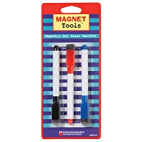 Dowling Magnets Magnetic Dry Erase Markers (juego de 3)