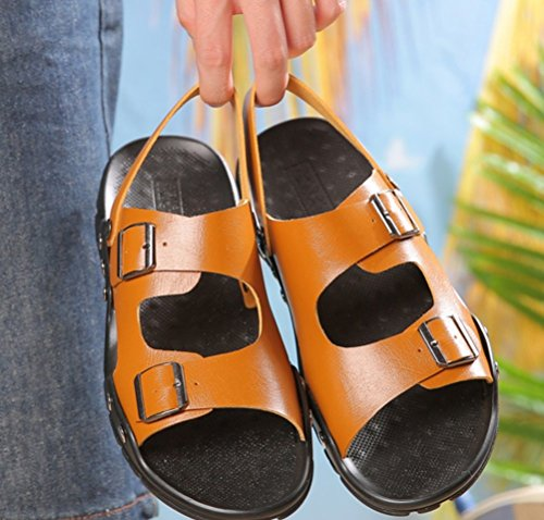 Outdoor Xiaoqi Braun Atmungsaktiv Hof Sandalen Sommer 2018 LIANGXIE Schuhe Strand Neue Männer Sandalen Komfort große x6g8OOX