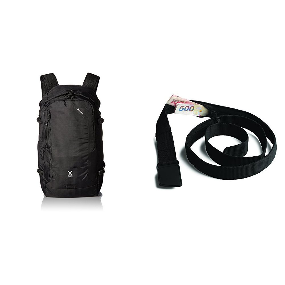 PacSafe Venturesafe X30 Anti-Theft Adventure Backpack with Travel Belt Wallet