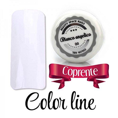 7 opinioni per Color Line- 00 Bianco Angelico- coprente- gel uv colorato 5ml