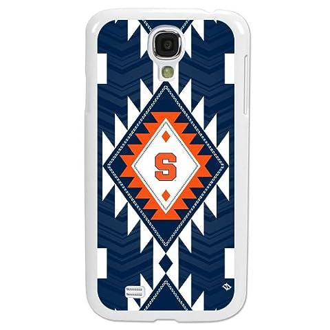 Syracuse Orange - Paulson Designs Tribal Case for Samsung Galaxy S4 - White (Syracuse Galaxy S4 Phone Case)