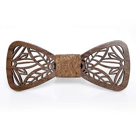 YYB-Tie Corbata Moda Corbata de Esmoquin para Hombre, Tallada a ...