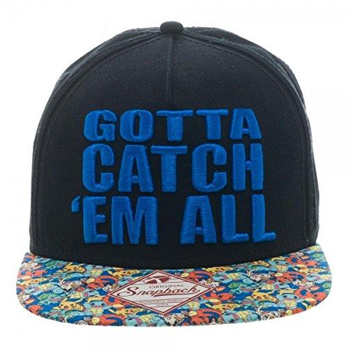 """Pokemon """"Gotta Catch 'Em All"""" SnapBack"""