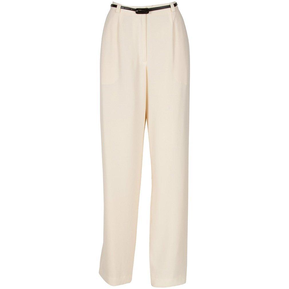 Norton Mcnaughton MAOXMSZ5 Beige/Cream Women Casual Pants Size 14