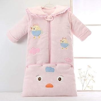 Gleecare Saco de Dormir para bebé,Los niños Calientes Engrosamiento otoño e Invierno Anti-Kick edredón algodón Largo bebé Productos Pijamas 0-3 años de ...