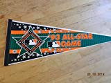 1993 Baltimore Orioles Camden Yards Mlb All Star Baseball Pennant Nr Mint