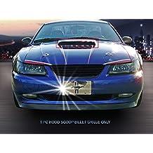 Fedar Hood Scoop Billet Grille Insert for 1999-2004 Ford Mustang GT V8