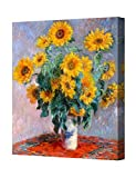 World Classic paintings by Claude Monet. Giclee Print, Stretched Canvas, Gallery Wrapped for Home Wall Decor