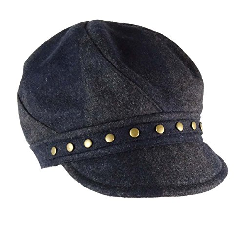 August Hats Women's Checked...