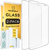 [2-PACK]-Mr Shield For LG G Vista [Tempered Glass] Screen Protector with Lifetime Replacement Warranty