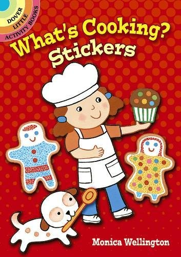 What's Cooking? Stickers (Dover Little Activity ()
