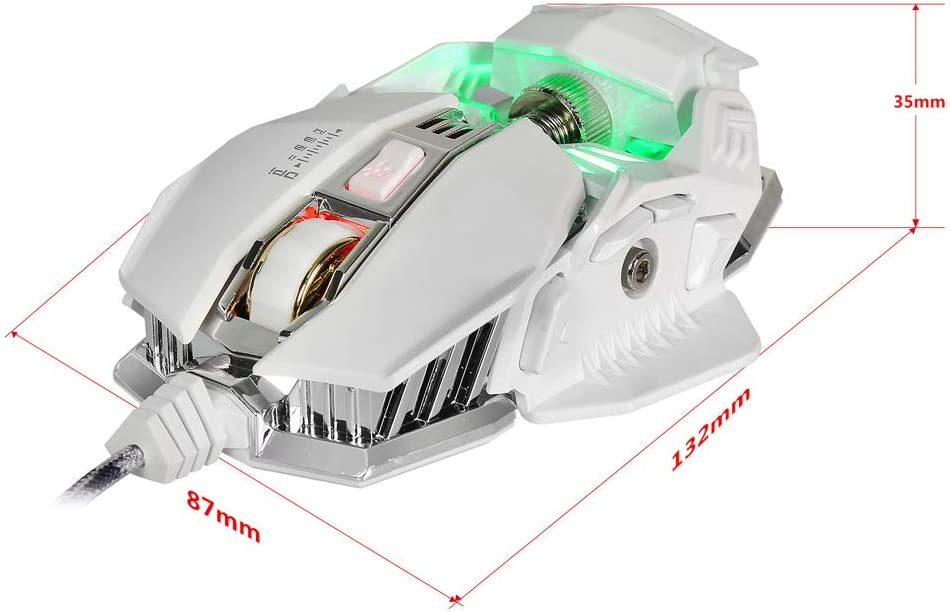 SELCNG Competitive Game Mouse Game Macro Definition 4 Files Adjustable GPI Aggravation