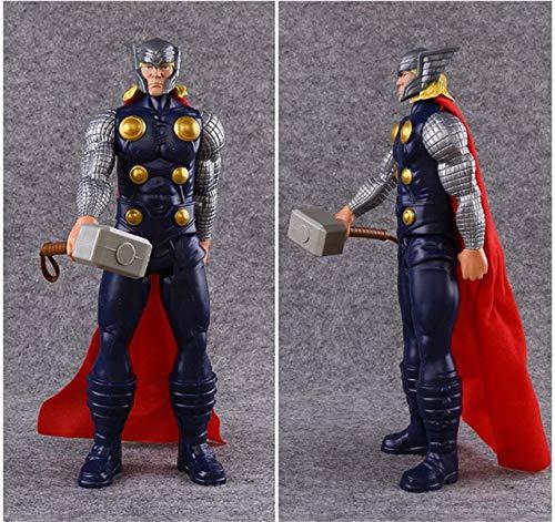 Viet FX 9 Styles 30cm Marvel Anime Toy The Avengers Superhero Captain America Wolverine Spiderman Iron Man Thor PVC Action Figure Model