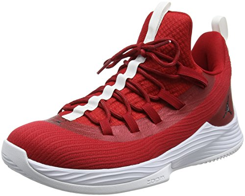 Hombres Jordan Ultra Fly 2 Low Gym Red / Black-white