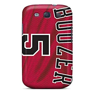 Durable Hard Cell-phone Cases For Samsung Galaxy S3 With Provide Private Custom High Resolution Chicago Bulls Image LauraFuchs