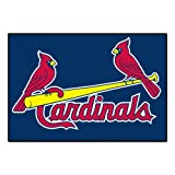 FANMATS MLB St Louis Cardinals Nylon Face Starter Rug