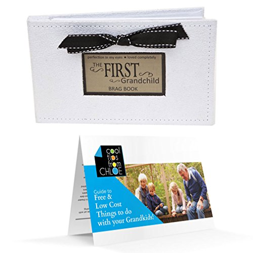 Grandparent Gift First Grandchild Brag Book and Guide to Free and Low Cost Activities with your - Brag Book Grandparents