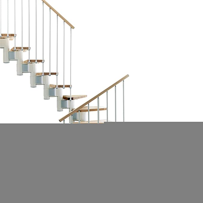 Arke Kompact U 29 en. Blanco Modular escalera Kit: Amazon.es: Bricolaje y herramientas