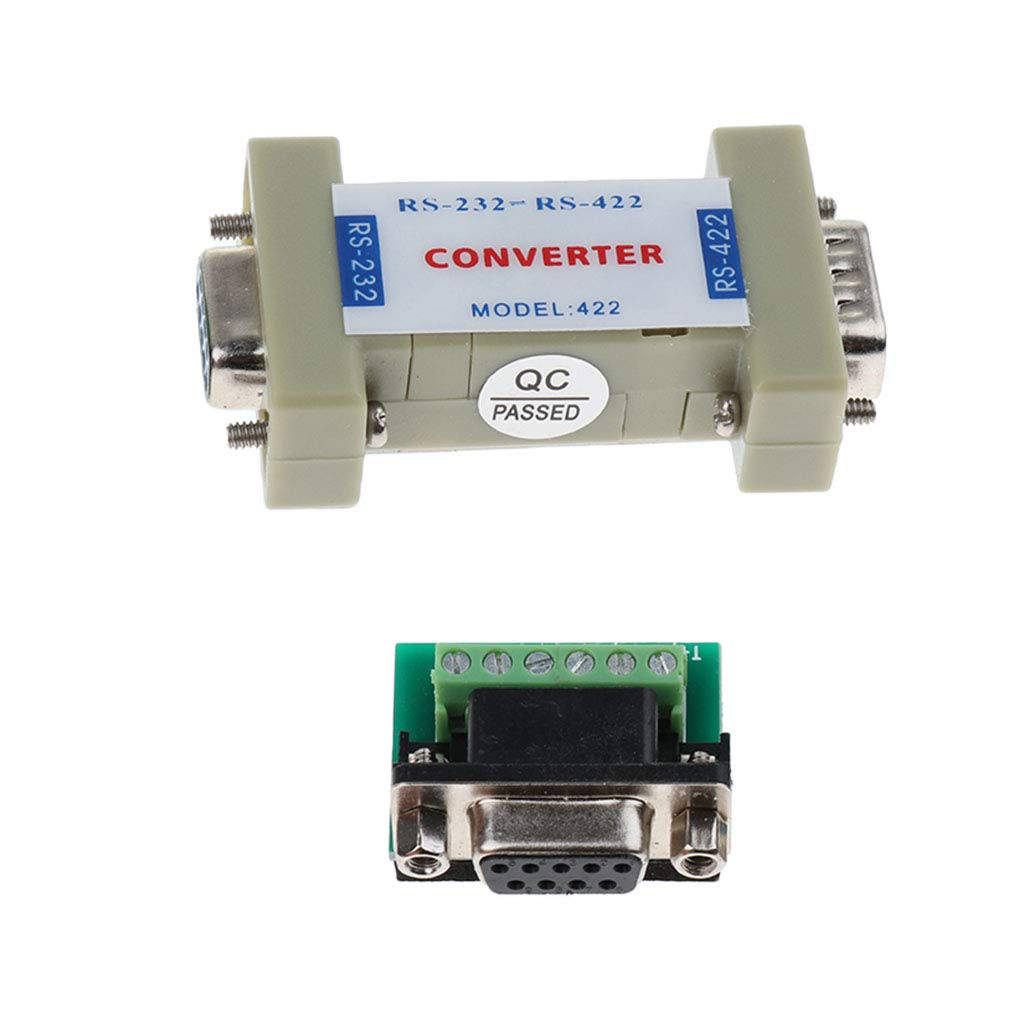 RS232 to RS485//RS422 Serial Communication Data Converter Adapter Mini-Size