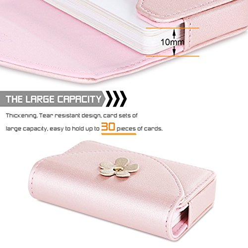 Fyy 100 handmade premium leather business name card case universal fyy 100 handmade premium leather business name card case universal card holder with magnetic closure reheart Image collections