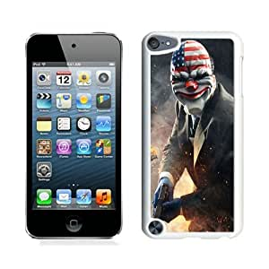 Fashion And Unique iPod Touch 5 Case Designed With Payday Dallas Heist Art White iPod Touch 5 Cover