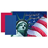 Patriotic Land Of The Free Paper Placemats With Napkins (10)
