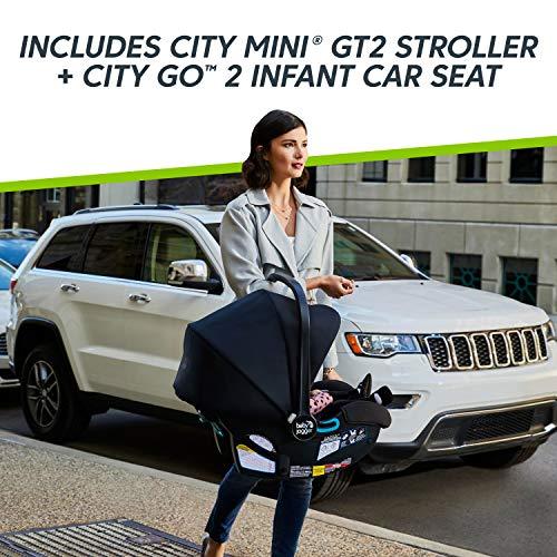 51XDpcsabKL - Baby Jogger City Mini GT2 Travel System, Slate
