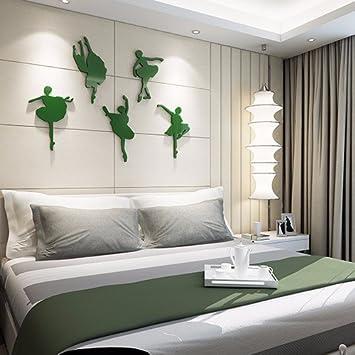 3d Aus Massivem Acryl Wand Anstriche Tapeten Schlafzimmer Bett Wand