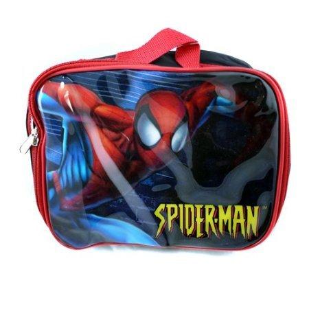 Spider Man Soft Lunch Box Kit with Sport Bottle (Soft Sport Kit)