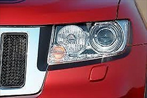 Price comparison product image 11-13 Jeep Grand Cherokee Black Out Eyeliner Decal For Headlight OEM NEW MOPAR(Fits 11-13)