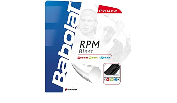 Amazon.com : Babolat RPM Blast 18G Tennis String : Sports ...