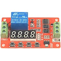 LeaningTech Newer Version 12V Relay Cycle Timer Module - Programmable with Customized Settings (Increased to 18 Modes)