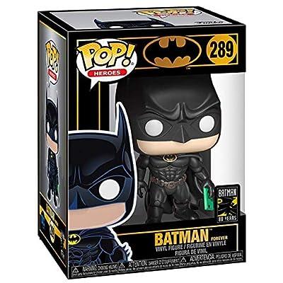 DC Comics Heroes: Batman 80th - Batman (1995) Funko Pop! Vinyl Figure (Includes Compatible Pop Box Protector Case): Toys & Games