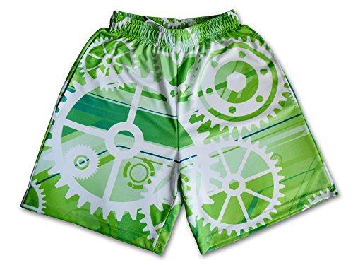 Lacrosse Threads Gears Boys Lacrosse Shorts Green – DiZiSports Store