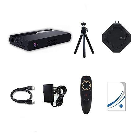 Proyector DLP Soporta Full HD 1080P Proyector de Bolsillo portátil ...
